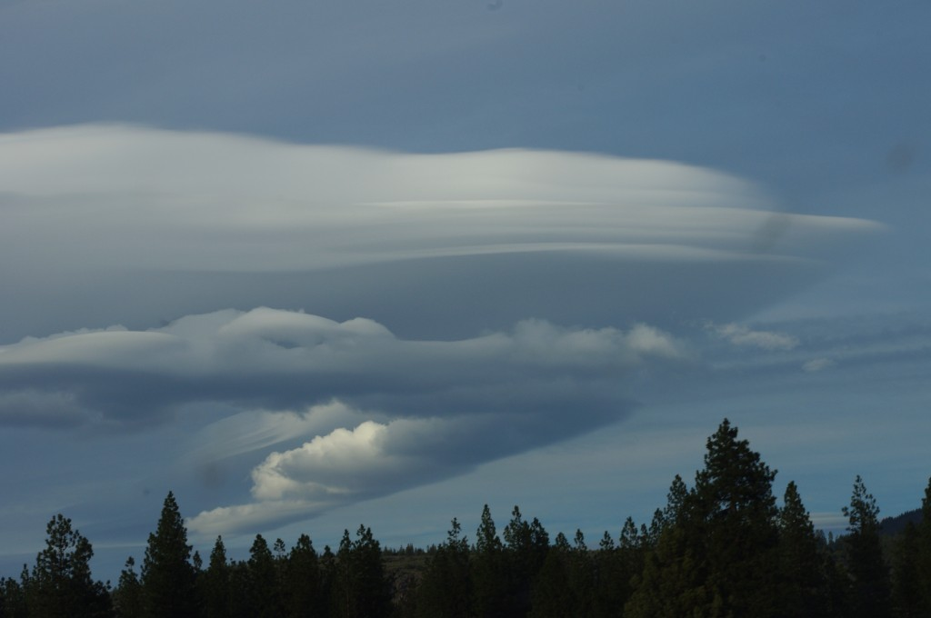 Lenticular Clouds near Mt. Shasta, CA