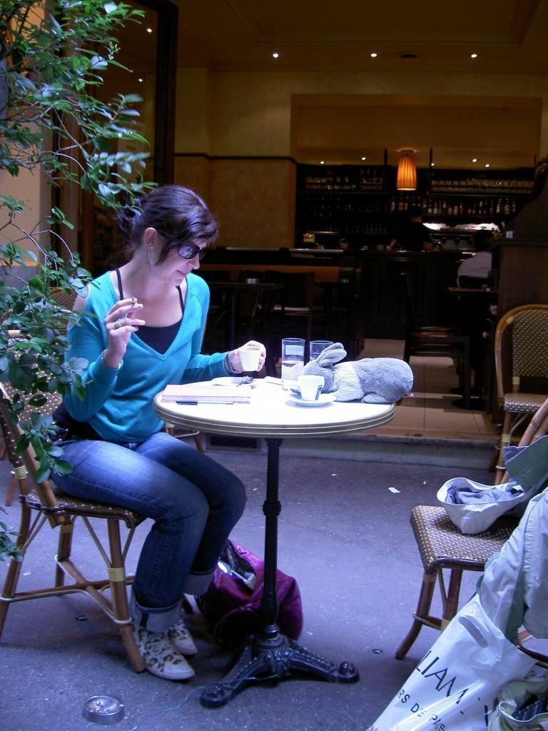 Bunbun but de café avec Renae